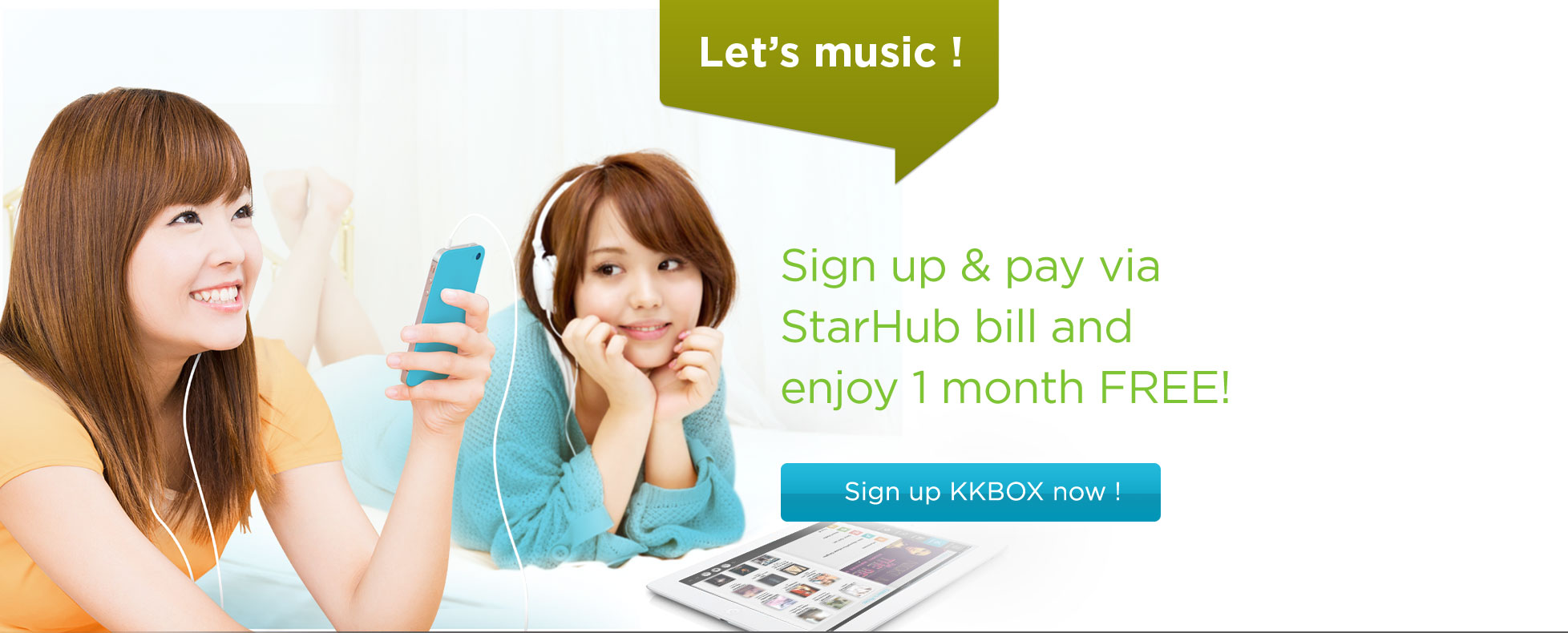 Try KKBOX now